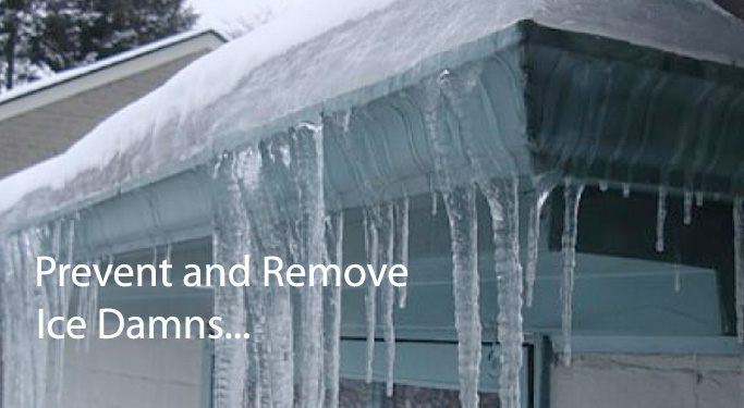 Prevent and Remove Ice Dams
